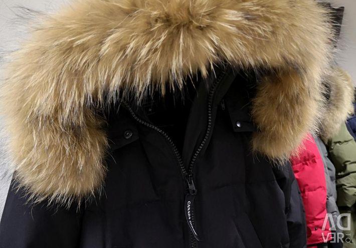 Καναδάς σακάκι από χήνα με μεγάλο μήκος (S, M, L)