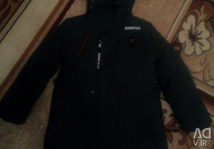 Jacket, parka νέα ντυμένος μια φορά.