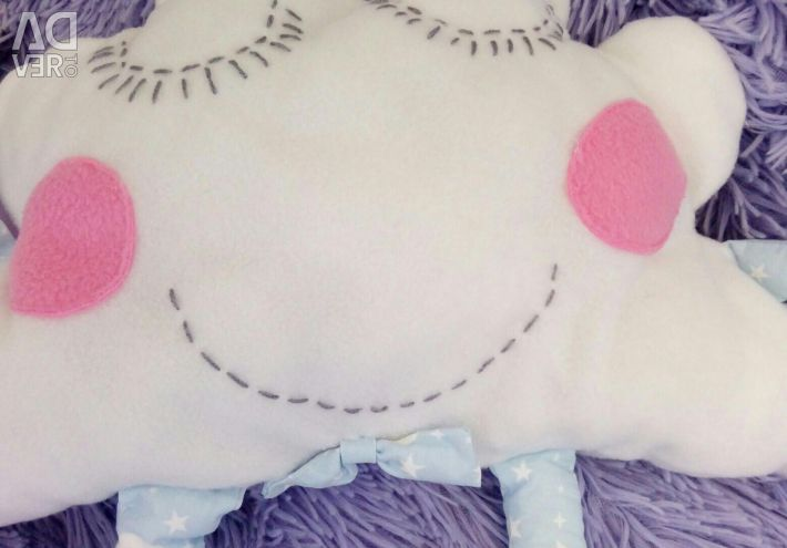 Patch pillow in the cravat new ?