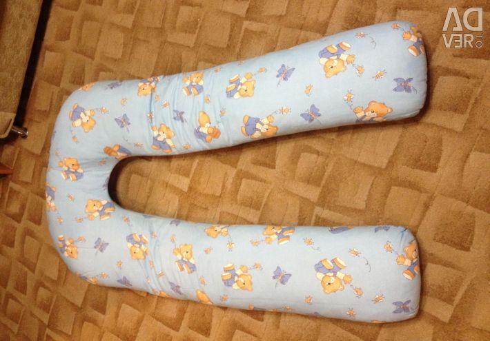 Pillow for pregnant women + pillow case