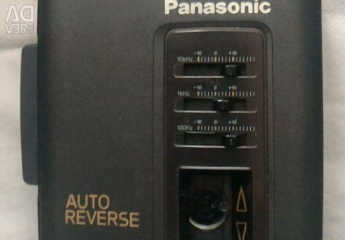 Audi player Panasonic RQ-V152 σε κατάσταση λειτουργίας