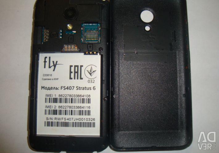 Fly fs-407 stratus 6 - repair