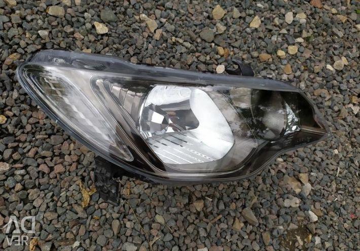 Headlight right xenon Honda Civic 4D 8 body