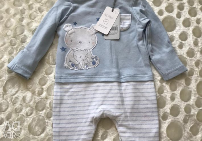 New overalls 1-3 months
