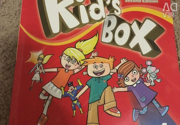 Tutorial και σημειωματάριο στα αγγλικά κουτί παιδιών