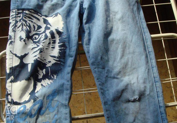 Jeans pentru 8-10 ani