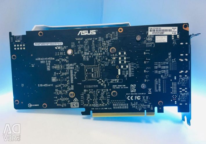 Asus GeForce GTX 1060 6Gb graphics card, warranty