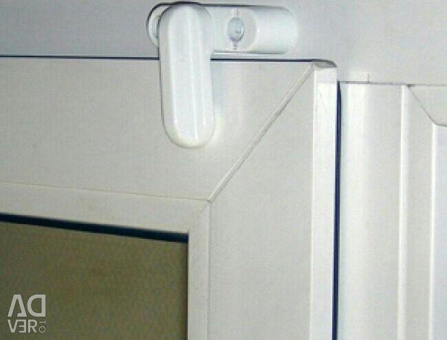 Child locks on the windows, on any furniture