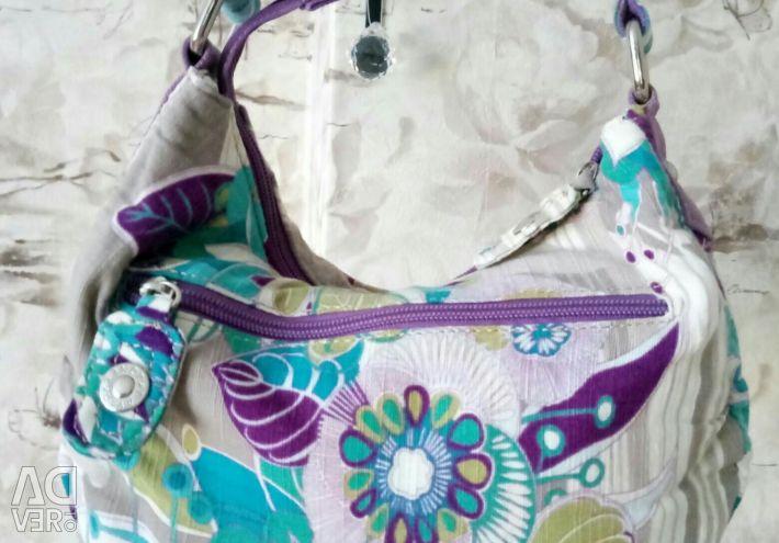 Τσάντα για ξεκούραση. Υφάσματα, πολύ ελαφριά.