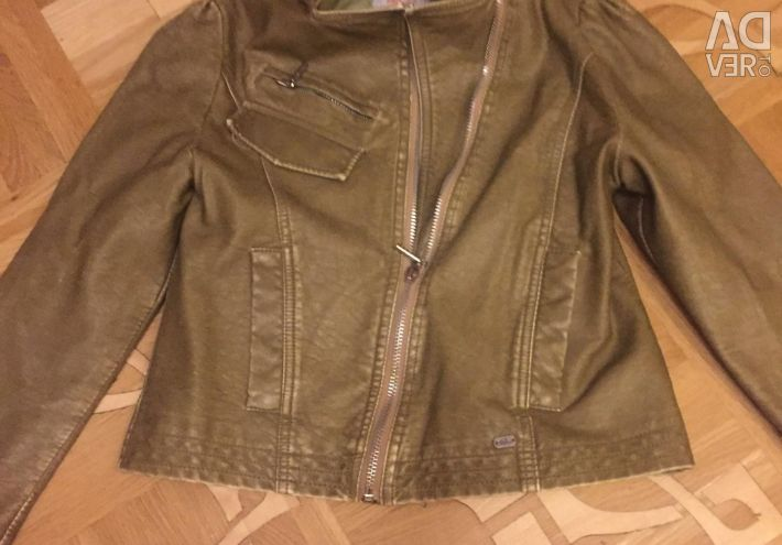 Eco-leather jacket ORBY, р140-72