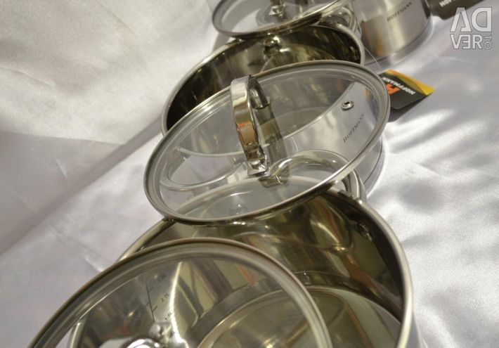 A set of Hoffmann !!! Suitable for all kinds of plates!
