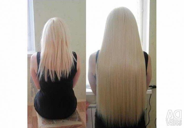 Italian hair extensions.