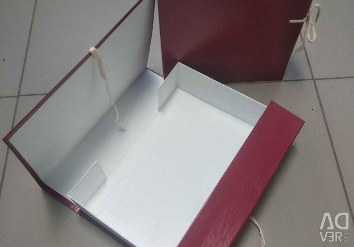 Archival box, А-4