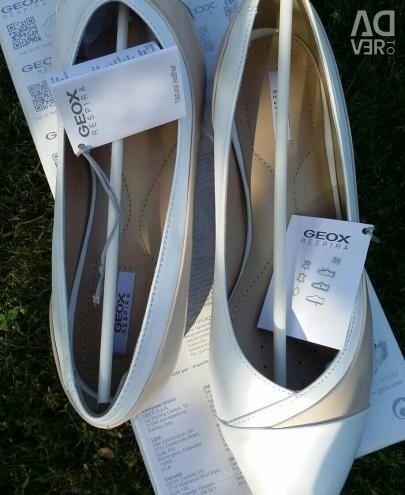 Новые Туфли Geox кожа натуральная
