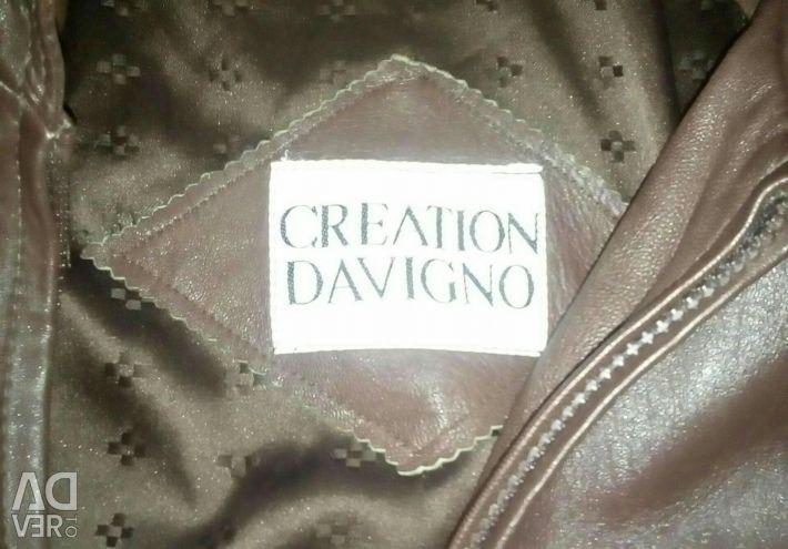Nutvralaya leather jacket р 50-52