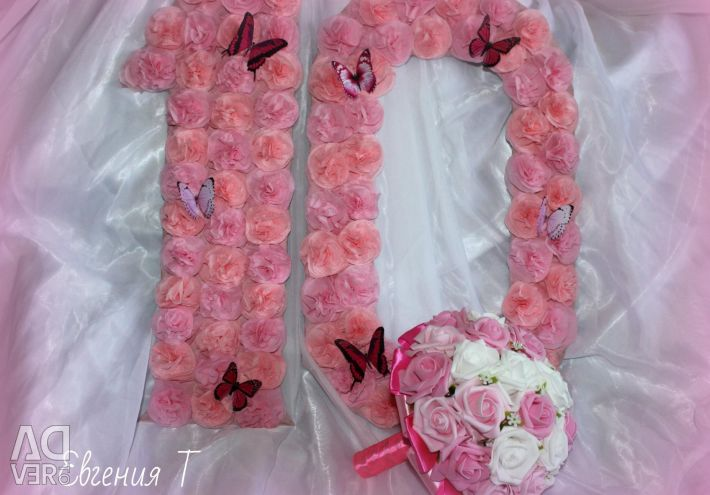 Bouquet for a pink wedding