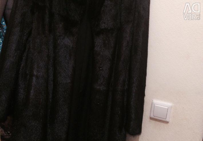 Γούνα παλτό Black Mink ⭐️