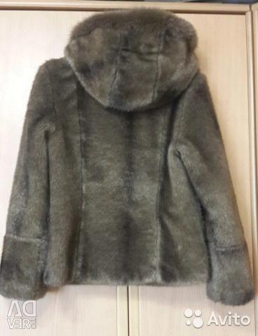Fur coat size 46