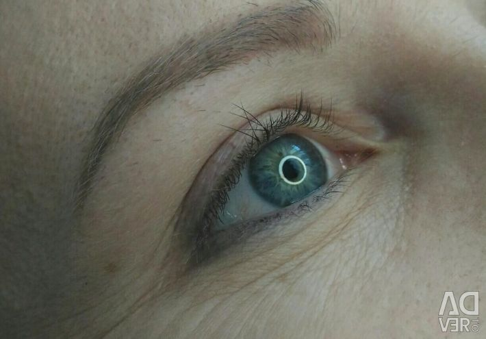 Velvet Lamination of eyelashes