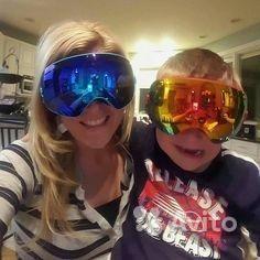 Ski mask glasses afusion rider set 003
