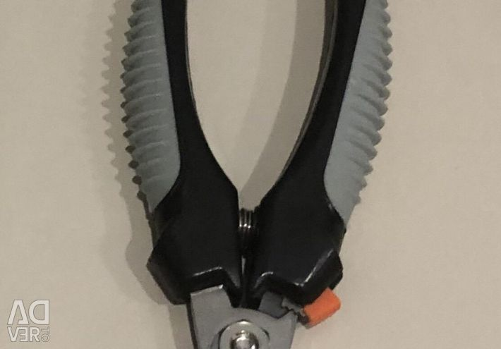 Comb and scissors for dogs / cats