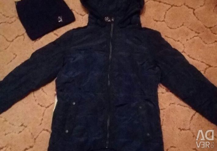 Куртка демисезон+шапочка в подарок