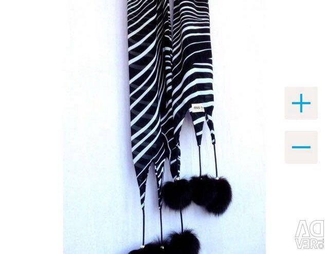 MiuMiu bubble scarf