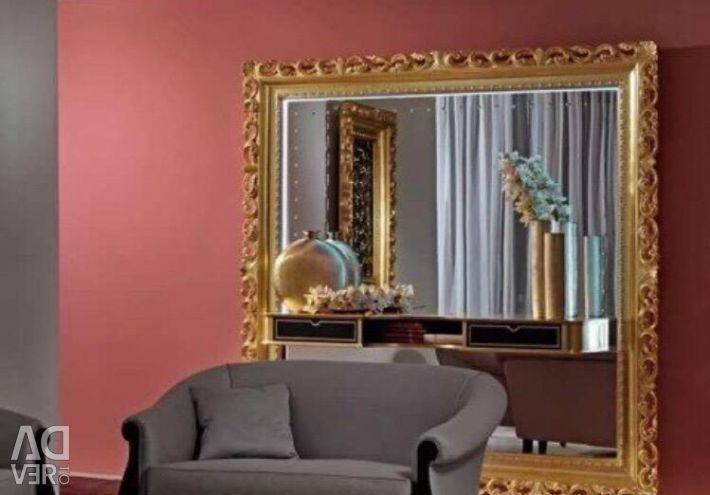 Oglindă consolă, suport TV, mostre de expoziție, VS