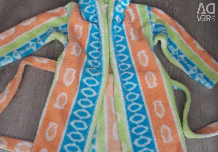 Bathrobe fleece r-p110