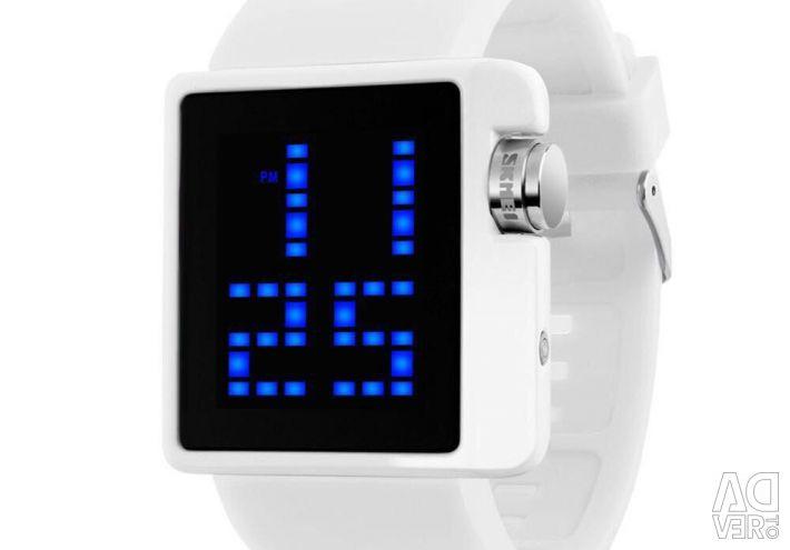 Modern Led Clock