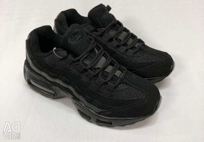 Кросівки Nike Air max 95 чeрние