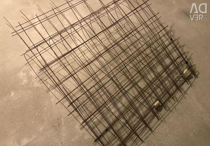 Grid for concrete reinforcement 100x100x2.5mm (5.5m2)
