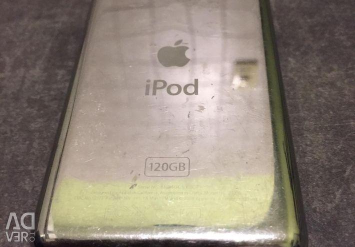 IPod Classic 120Gb 6Gen για ανταλλακτικά κάτω από την ανάκτηση.