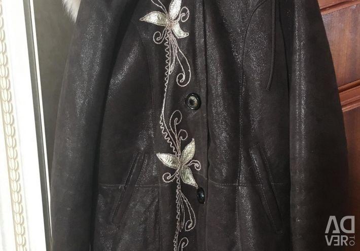 Sheepskin coat new