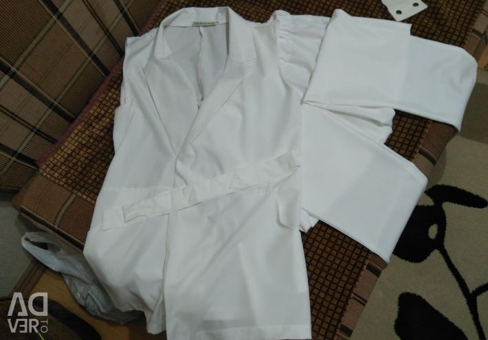 White suit