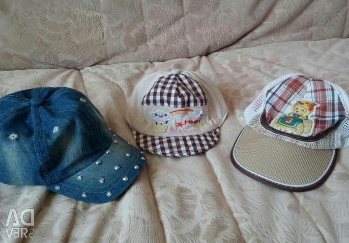 Panamka for children, cap. Natural cotton