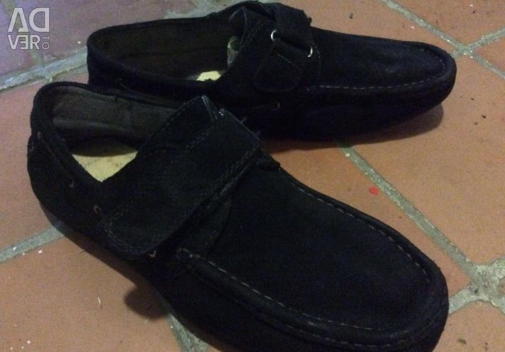 New men's moccasins for the boy