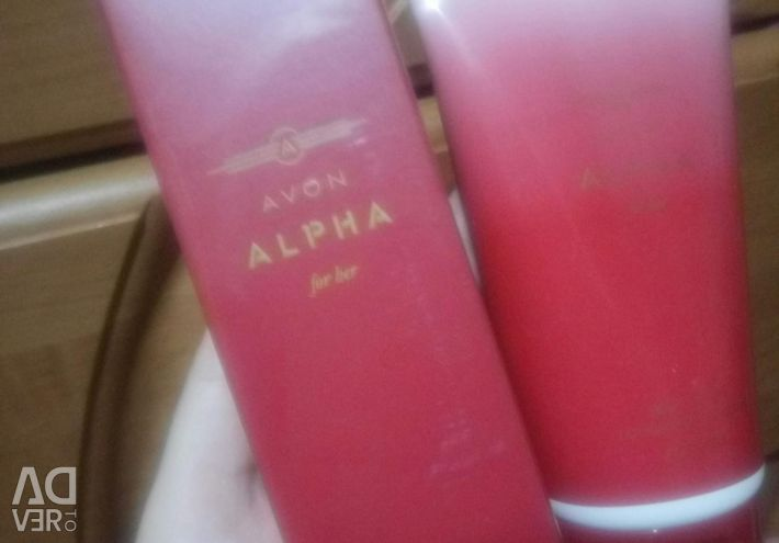 The alfha alpha set upon purchase 2x on 500 rub I will give
