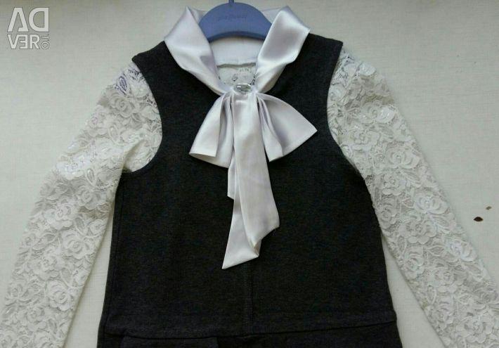 Formă tricotată pentru fată r128