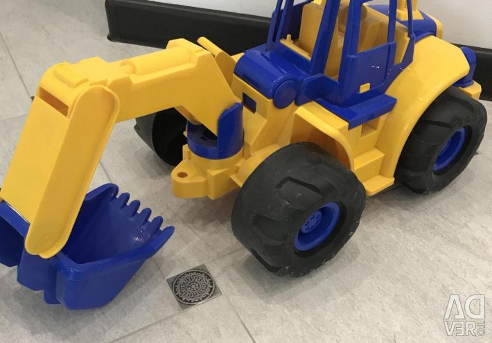 Super excavator. Big !!!! Nordplast.