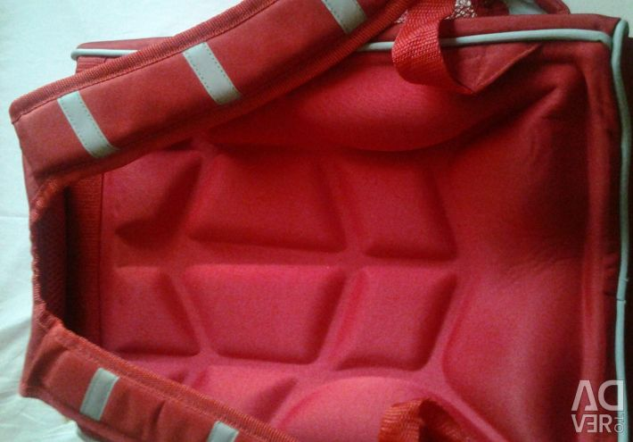 School backpack, with orthopedic backrest, new