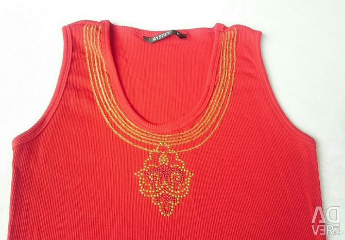 Bright Red Top 44-46