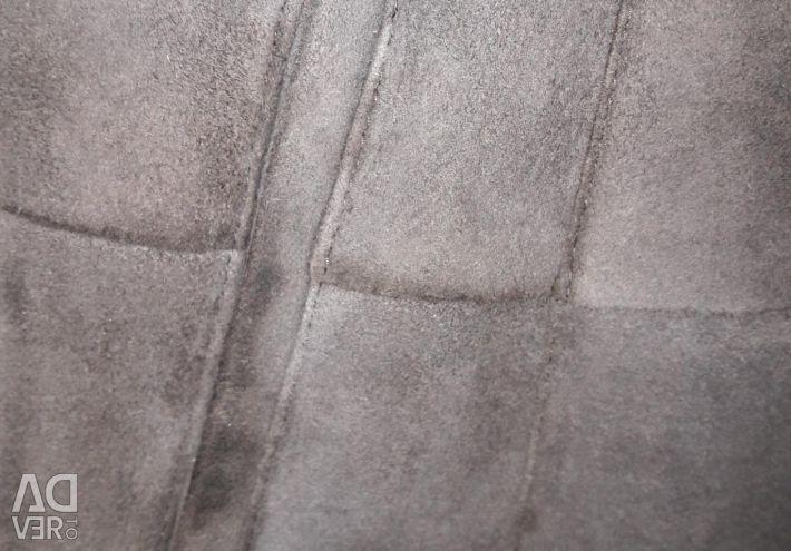 Sheepskin coat natural new