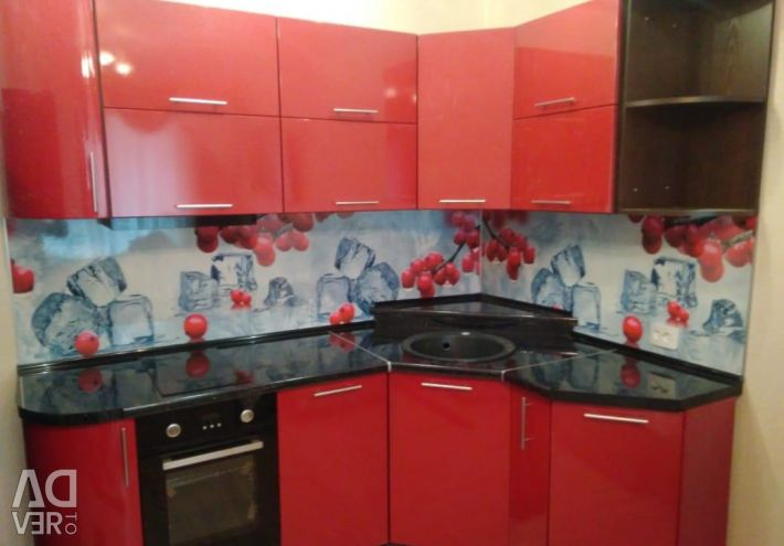 Modular kitchen 2.1 * 1.4 (Gloss) in Nakhodka