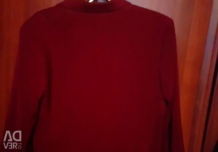 Jacket pentru un adolescent de 12-14 ani, zmeură.