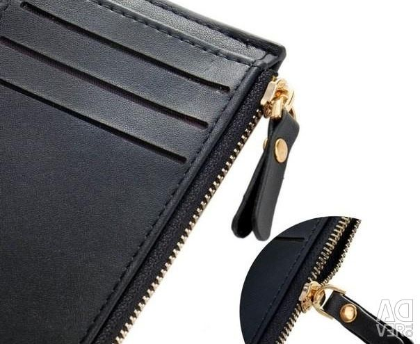 New, packaged, Purse, color black