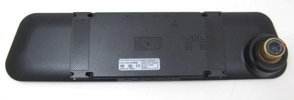 Video recorder-mirror 2 cameras