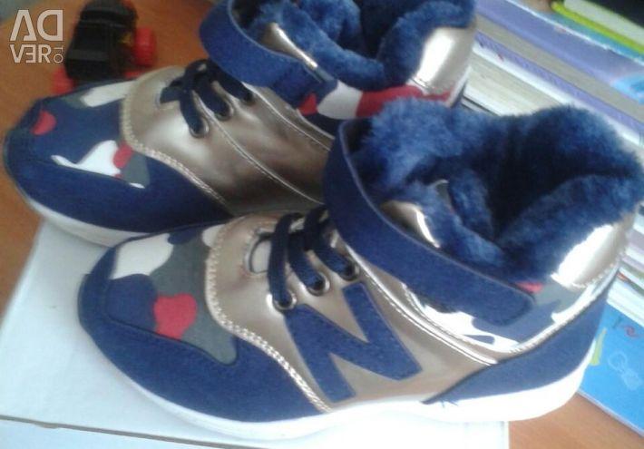 Παιδικά αθλητικά παπούτσια χειμώνα