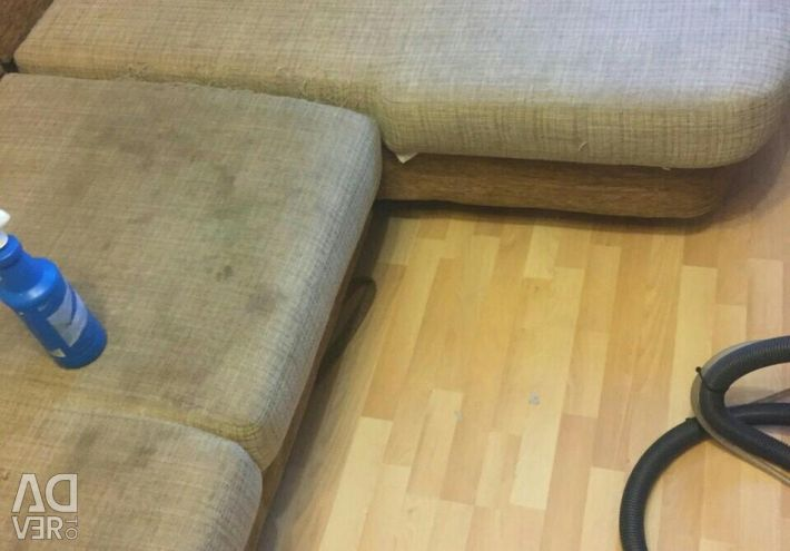 Cleaning of sofas, mattresses, armchairs ...