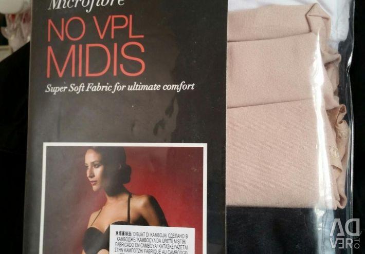 Set of underwear M & S 5pcs new